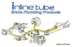 03-08 Chevy Silverado GMC Sierra Truck & SUV Brake Line Set Kit Tubes Stainless