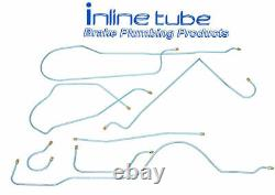 1959 Buick LeSabre Invicta Complete Drum Brake Line Set Kit Tubes Stainless