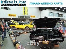 1965 Chevrolet Corvair Manual Drum Complete Brake Line Set Kit Tube Stainless