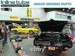 1967 67 Nova Chevy II Preformed Complete Power Disc Brake Line Kit Set STAINLESS