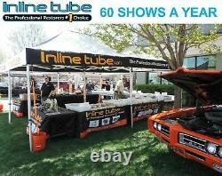 1968-69 Chevrolet Corvair Manual Drum Complete Brake Line Set Kit Tube Stainless