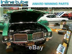 1984-88 Oldsmobile Cutlass Complete Power Disc Brake Line Set Kit Stainless