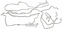 1995-2000 Chevrolet Tahoe GMC Yukon 4 Door Complete Brake Line Kit Set Lines SS