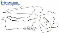 1995-99 Suburban Brake Line Set Kit Tube Lines Chevy GMC SUV 1/2 Ton 4wd SS