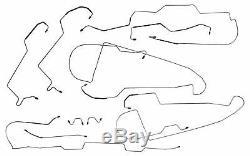 1996-99 Buick LeSabre Preformed Brake Line Kit ABS TC Full Set Tubes STAINLESS