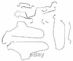 1997-2003 Grand Prix Preformed Brake Line Set WITH ABS 11p Tube Hose Stainless