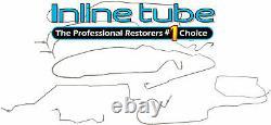 2003-07 Silverado Sierra 2500 HD Std Long Complete Hydraulic Brake Line Kit SS