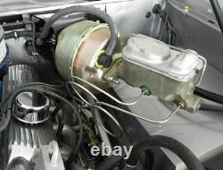 66-79 Bronco Master Cylinder Stainless Steel Lines Disc Brake Prop Valve Bracket