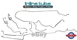 84-87 G-body Buick Regal Base Car Prebent CNC Brake Line Set Kit Tubes STAINLESS