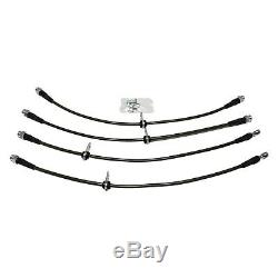 AMS Performance Stainless Steel Brake Lines For Mitsubishi 08-15 Evo X
