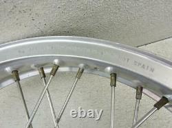 Akront 19 Alloy Disc Brake Front Wheel Stainless Spokes Triumph 750 T140 104