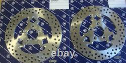Big Dog Motorcycles Brake Rotor Set 2003-03 Chopper Mad Clown Pm Stainless Steel
