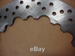 Big Dog Motorcycles OEM 11.5 brake rotor disc 2005-2011 Front/Rear SS FRICTION