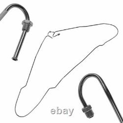 Dorman Stainless Brake Line Kit for 99-02 Chevy GMC 1500 Ext Cab 6-1/2 Bed 4WD
