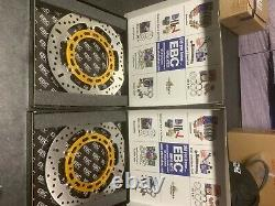EBC Front Brake Disc X Series Stainless Steel Yamaha YZF R1 1998-2003 (MD2074X)
