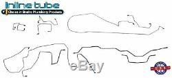 Fits 1995-01 Jeep Cherokee XJ withABS Preformed Hydraulic Brake Line Set Stainless