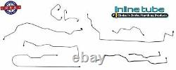 Fits 1999-04 Jeep Grand Cherokee 4W DISC ABS Preformed Brake Line Set Stainless