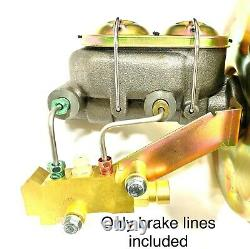 Full Brake Line Set In Stainless Steel 1968-72 (See bullet points for fitment)