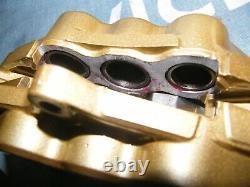 GSXR 1000 K1 K2 6 pot TOKICO front brake callipers ZZR1100 600 stainless upgrade