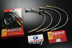 Goodridge 2002-2005 Honda CIVIC Si Ep3 Stainless Steel Ss Brake Lines Line Kit