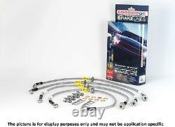 Goodridge 2012-2015 Honda CIVIC Si 2.4l Stainless Steel Ss Brake Lines Line Kit