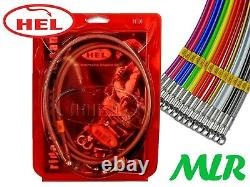 Hel Performance Mazda Rx7 Fc Stainless Steel Braided Brake Lines Hose Pipes