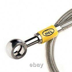 Hel Performance Stainless Braided Brake Lines Hoses Mitsubishi 3000 Gt Gto Y2537