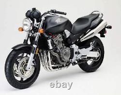 Honda Cb900 Hornet Sc48 2002-2005 Front & Rear Stainless Braided Brake Kit Hrc