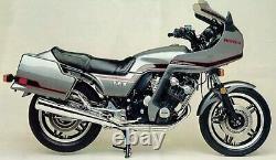 Honda Cbx1000 Prolink 1981-1982 Front & Rear Stainless Braided Brake Kit Hrc