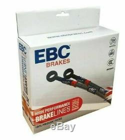 Honda Civic Type R Braided Brake Hose Kit Stainless Steel FN2 Front and Rear