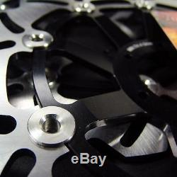 Honda Front Stainless Steel Brake Disc Rotor + Pads CBR 600 F4i 2001-2006 NEW