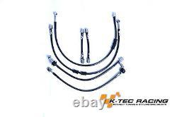 K-Tec Racing Stainless Steel Braided Brake Lines Megane 4 RS 280/300