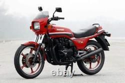 Kawasaki Gpz550 Kz550h 1982-1983 Front & Rear Stainless Braided Brake Kit Gpz