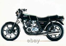 Kawasaki Kz1000 St Kzt00e 1979-1980 Front & Rear Stainless Braided Brake Kit