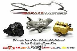 Kawasaki ZZR1100 ZZR 1100 D1-9 1993-01 stainless front brake pistons set 8