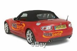 MX5 Hel Performance Stainless Steel Brake Hose Line Set Mazda MX-5 Mk3 20052015