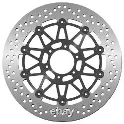 SBS Stainless Steel 2-PC Brake Rotor FRONT LEFT/RIGHT, REAR LEFT Victory 5308