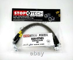 Stoptech Ss Stainless Steel Front + Rear Brake Line Kit For 03-08 Nissan 350z