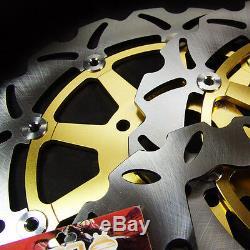 Suzuki F+R Stainless Steel Brake Rotor + Pads GSX 1300 R Hayabusa 1999-2007