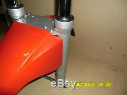 Suzuki GS 500 GS500 GS500E Front Forks Complete with Mudguard Stainless Bolts
