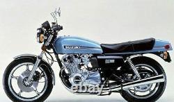 Suzuki Gs1000e 2v 1978-1980 Front & Rear Stainless Braided Brake Kit Gsx-r