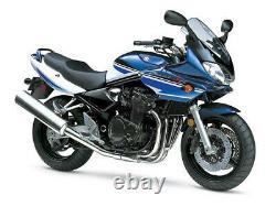 Suzuki Gsf 1200 S Bandit 2001-2005 Front & Rear Stainless Braided Brake Kit