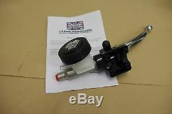 TRIUMPH T140 T150 TR7 FRONT MASTER CYLINDER 1973-78 60-4102S/13mm STAINLESS