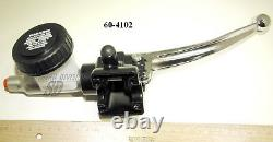 Triumph 60-4102 front brake Master cylinder assembly stainless T140E TR7 1973-78