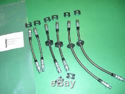 Vw Scirocco 16V Stainless Brake Line Hose Kit WithDisc