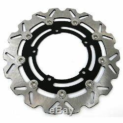 Wavy Stainless Front Brake Disc (Pair) Yamaha YZF-R6 / R1 / FZ8 / XT 1200 Z
