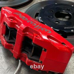 Wilwood 6 Piston Front Big Brake Kit Honda Civic EK Stainless Steel Lines Rotors