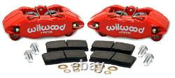 Wilwood Forged DPHA Front Caliper Kit Red For Acura Integra / Honda Accord Civic