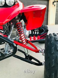 XFR Titan A Arms Honda TRX 250R +3 +1 Chromoly Stainless Brake Lines Warranty