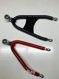 XFR Titan Extended A Arms Honda TRX 450R 450ER Chromoly Stainless Brake Lines